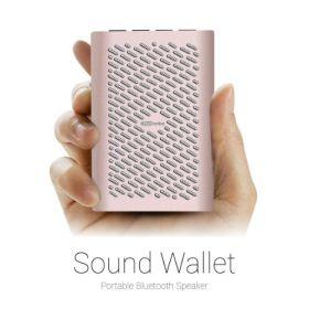 Portronics Por 525 Sound Wallet Speaker-Gold