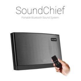 Portronics Soundchief Multimedia Stereo Sound System With Remote Control (Black)
