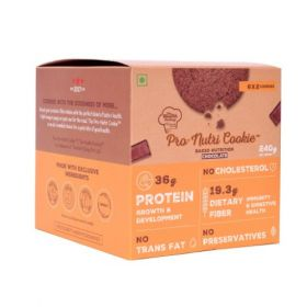 Pro-Nutri Cookie - Chocolate (High Protein Cookie) - Pack 0f 6