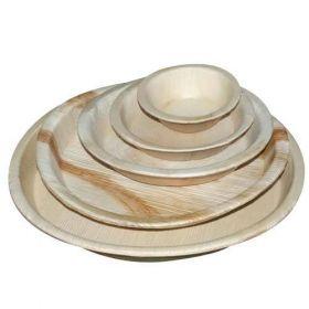 Areca Round Disposable Plates