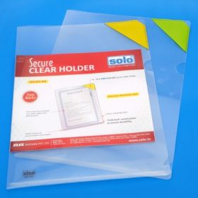 Secure Clear Holder, Pack of 5 pcs (SH101)