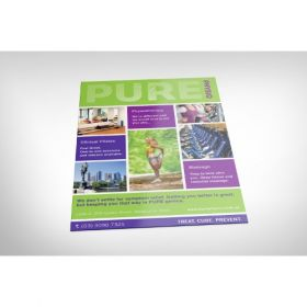 Single-Sided A4 Flyers (210Mm X 297Mm)(100 Pcs)