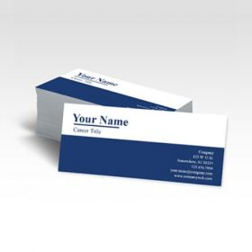 Single Sided Slim Business Card 1(100 Cards)