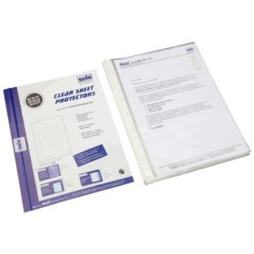Sheet Protectors - Heavy Duty, Pack of 50 pieces, (SP102)