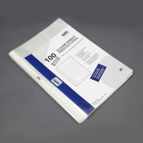 Sheet Protectors - 11 Hole, Packs of 100 pcs (SP111)