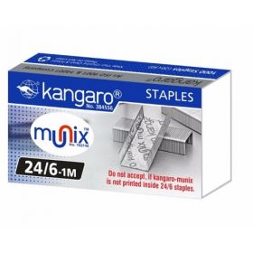 Kangaro 24/6 Staple Pin - (20 Pack)