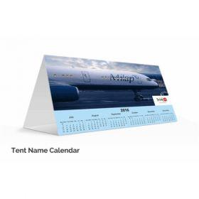 "Tent Name Calendar 9"" X 3"" X 6""(20 Pcs)"