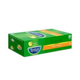 Tetley Green Tea - Lemon And Honey, 100 Teabags
