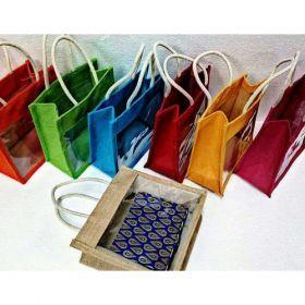 Transparent Jute Bags