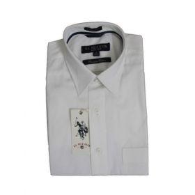 U.S. Polo Assn. Men White Premium Cotton Shirts -46cm