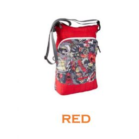Wildcraft Wrap-It Messenger For Women - Red