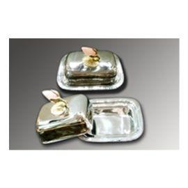 Butter pot (AI-LT-19) - Brass & Steel