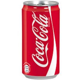 Coca Cola Soft Drink, 300 ml Can (Pack of 24)