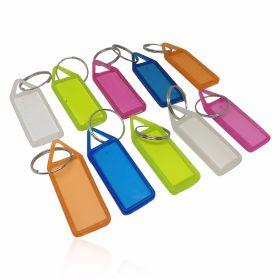 Plastic key Chain tag (Pk of 50 pcs)