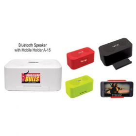 Bluetooth Speaker With Mobile Holder (A-15)