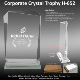 Crystal Trophy (H-652)