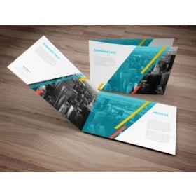 A4 Brochures (Landscape 4 Pager)(10 Brochures)