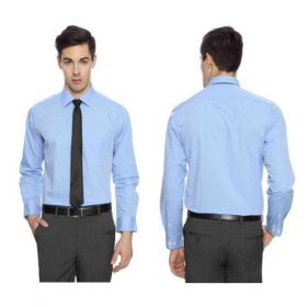Arrow Men Blue Premium Cotton Shirts -46cm
