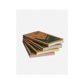 ECO FRIENDLY Note Book - 60 gsm sheets, 220 gsm kraft paper cover, Small size, ( 160 pages )