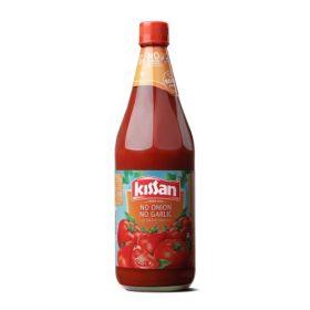 Kissan No Onion No Garlic Sauce Bottle, 1kg