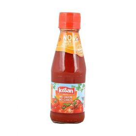 Kissan No Onion No Garlic Sauce Bottle, 200 Grams