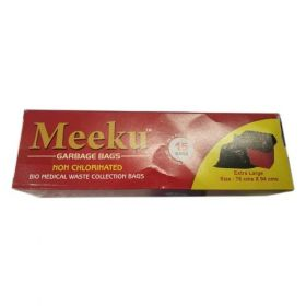 Meeku Biodegradable Garbage cover Big - (size - 76 x 90 CMS)