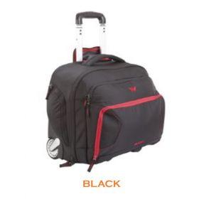 """Wildcraft Voyager Overnighter 13.5"""" Bag - Black"""