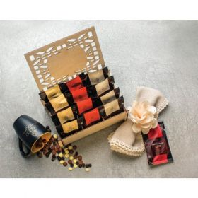 Wooden Hot Chocolates Box