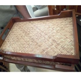 Wooden Tray  - 1 Pc