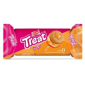 Britannia Orange Treat Biscuit- 100 Gms(Pack Of 6) - 5Packs