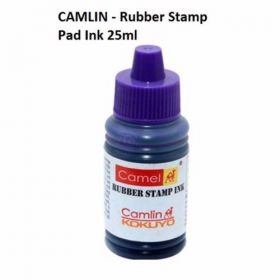 Camlin Stamp Pad Ink, Violet-7601451, 25 Ml - 10 Pcs