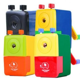 Deli 0616 Rotary Pencil Sharpener (Assorted) - 1 Pc