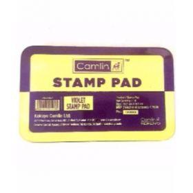 Camlin Stamp Pad No 2, Violet, Medium - 10Pcs