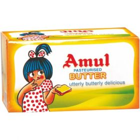 Amul Butter - Pasteurized, 100 gm Pack