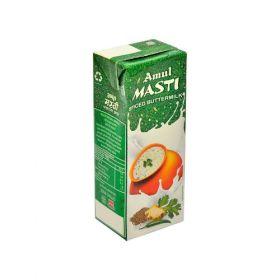 Amul Masti Buttermilk - Spice, 200 ml Carton (Pack of 4)