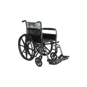 Deluxe Wheelchair With Pu Mag Wheels
