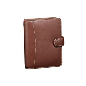 Personal Planner Leather-Brown