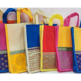 Jute Bags with Fancy Border