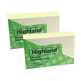 Highland Self Stick Removable Notes