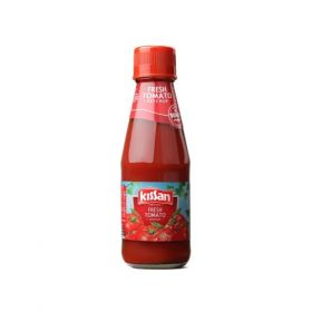 Kissan Fresh Tomato Ketchup Bottle, 200 Grams
