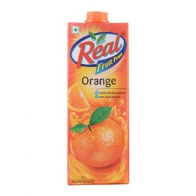 Real Fruit Power, Orange Juice, 1 Liters