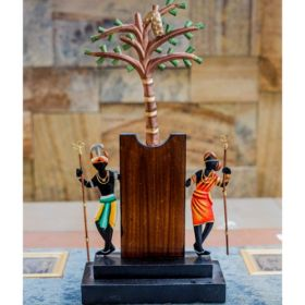 Tribal Couple Tree Memento